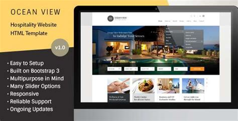 5 Best Html Responsive Booking Templates Freakify Com Booking Website Template
