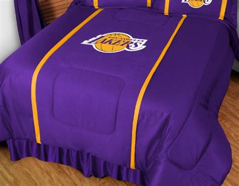 lakers queen comforter set los angeles la lakers 3 piece queen bedding set comforter