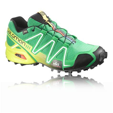 salomon speedcross 3 gtx trail running shoe salomon speedcross 3 gtx trail running shoes ss16 40