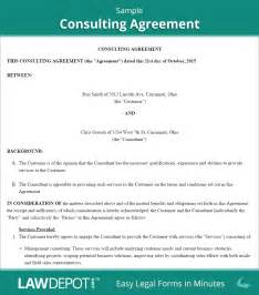 consulting contracts templates consulting contract free consulting agreement template