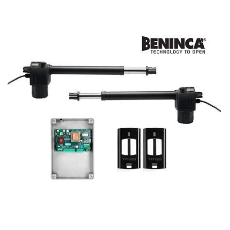 swing gate motor beninca bill3024 dual swing gate motor kit samtgatemotors