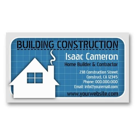 builders business cards designs templates construction business card designs business card templates