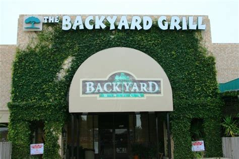 the backyard grill houston tx the tree picture of the backyard grill houston tripadvisor