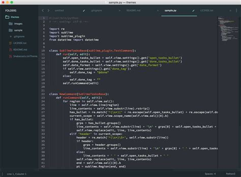 theme sublime text 3 package control snakecasts theme packages package control