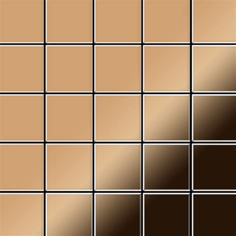 azulejos mosaico azulejo mosaico de metal s 243 lido titanio espejo cobre
