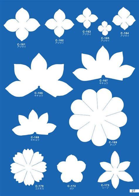 felt paper flower pattern 435 best bloemen patronen images on pinterest