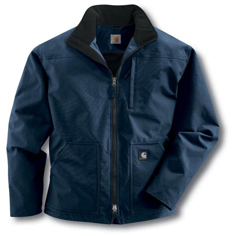Jaket Reg s carhartt 174 fleece lined jacket regular 184175 insulated jackets coats at