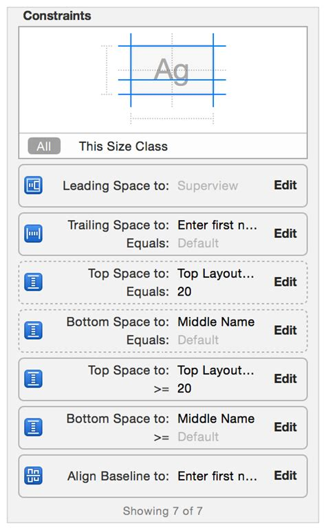 top layout guide constraint auto layout guide working with constraints in interface