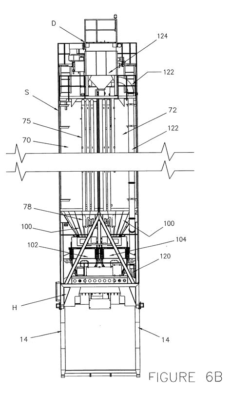 silo section patent us6293689 high volume portable concrete batching