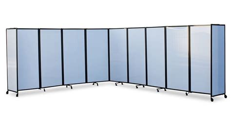 360 acoustic portable room divider polycarbonate