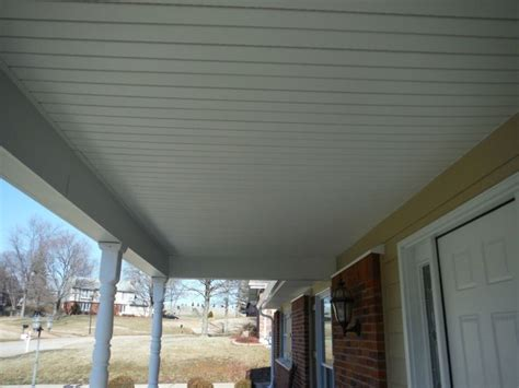white vinyl hidden vent soffit exterior house siding