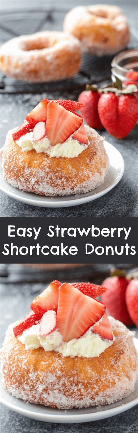 donut cookbook 55 great easy and popular sweetened donut recipes to fry or bake at home healthy food books easy strawberry shortcake donuts the novice chef
