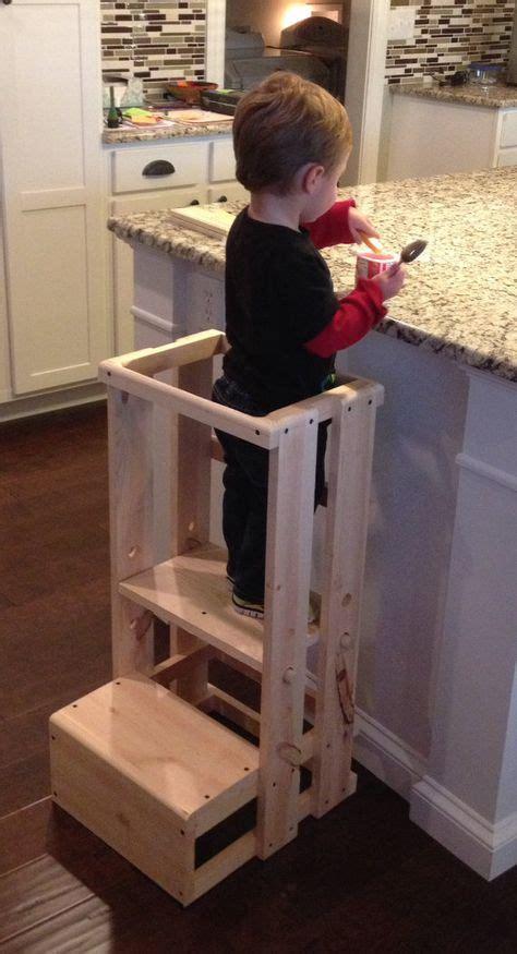 Kitchen Helper Step Stool Plans by Child Kitchen Helper Step Stool By Teddygramstottowers On