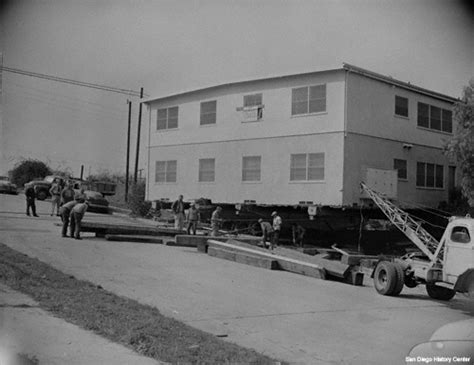 ace house movers 1950s san diego history center san diego ca our city our story