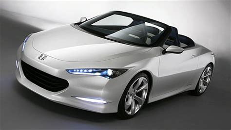 honda two seater honda osm two seater roadster concept