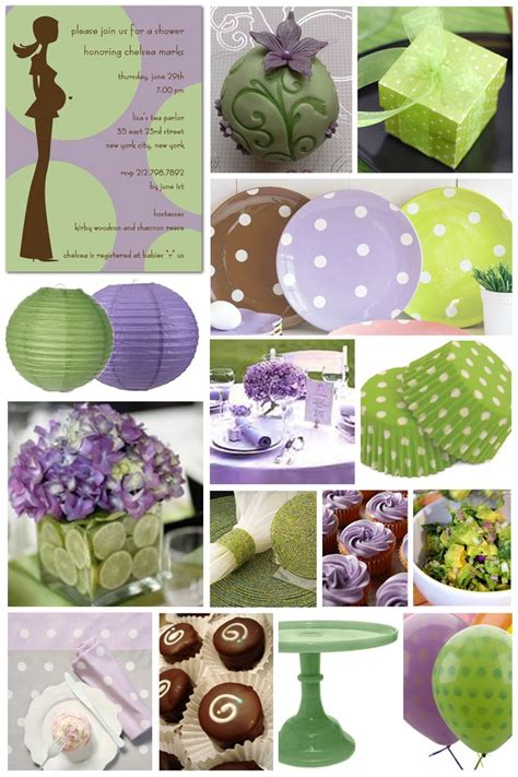 purple and green bridal shower decorations 103 best images about baby shower green and purple on