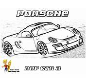Free Coloring Pages Of Porsche