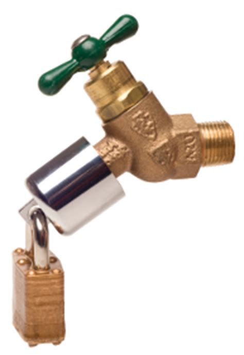 Water Faucet Lock by Hose Bib Lock Review Best Value Xeriscapes