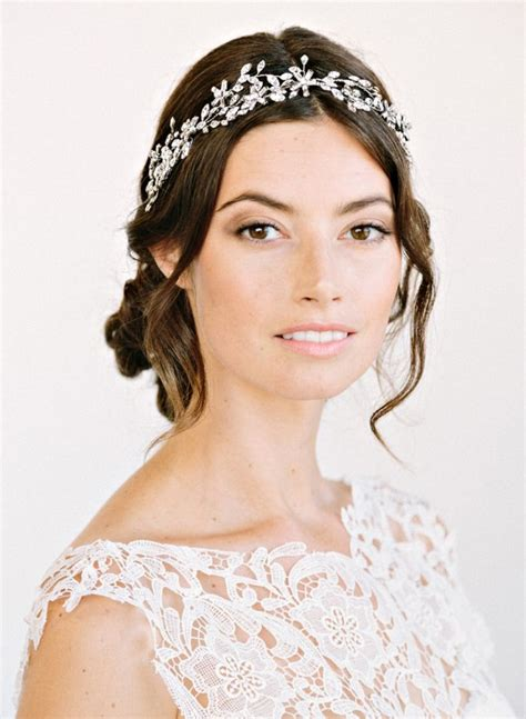 beautiful bridal headbands makeup for your day