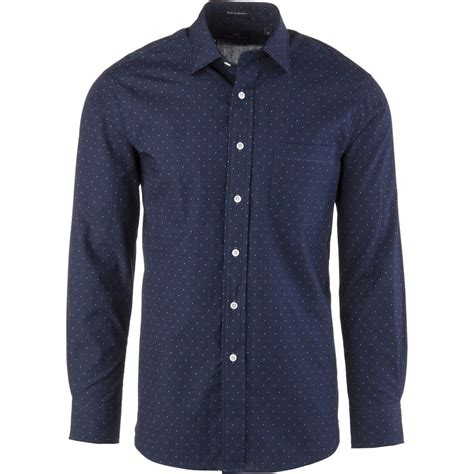 pattern shirt man new england shirt company chambray pattern shirt long