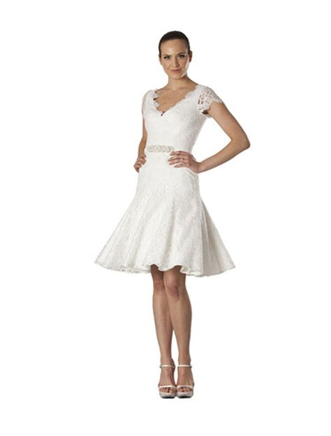 Couture 20 Discount by Theia Couture 890057 Size 6 Wedding Dress Oncewed
