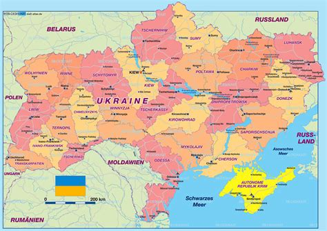map ukraine europe map of ukraine east europe map in the atlas of the