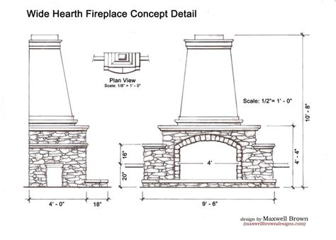 Dimensions Of Fireplace by Outdoor Fireplace Dimensions Fireplace Design And Ideas