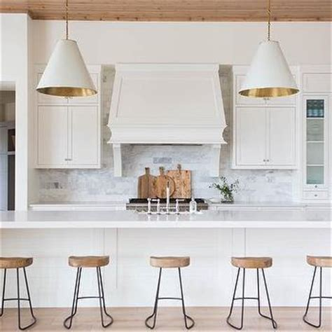 extra long kitchen island waterfall kitchen island with robert abbey bling