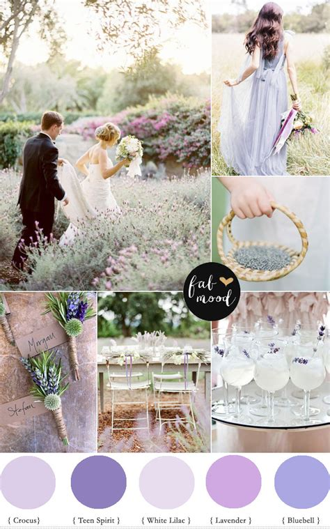 Blue Mood Paint Color secret garden wedding lavender wedding