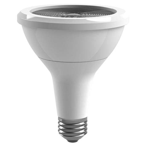 Ge 75w Equivalent Soft White 2700k Par30 Long Neck Led Dimmable Flood Light Bulbs