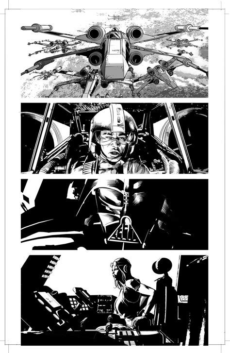 channel your inner superstar books open mike deodato s vader sketchbook part 2