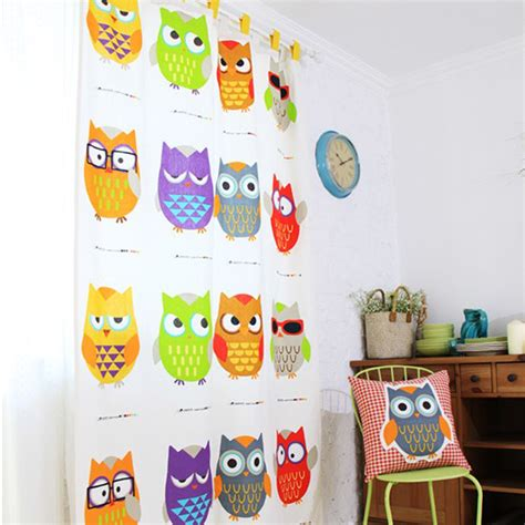 owl curtains for bedroom popular owl window curtains buy cheap owl window curtains lots from china owl window