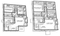 bungalows modern homes and floor plans on