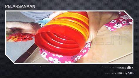 youtube membuat vas bunga cara membuat vas bunga dari compact disk dan botol plastik
