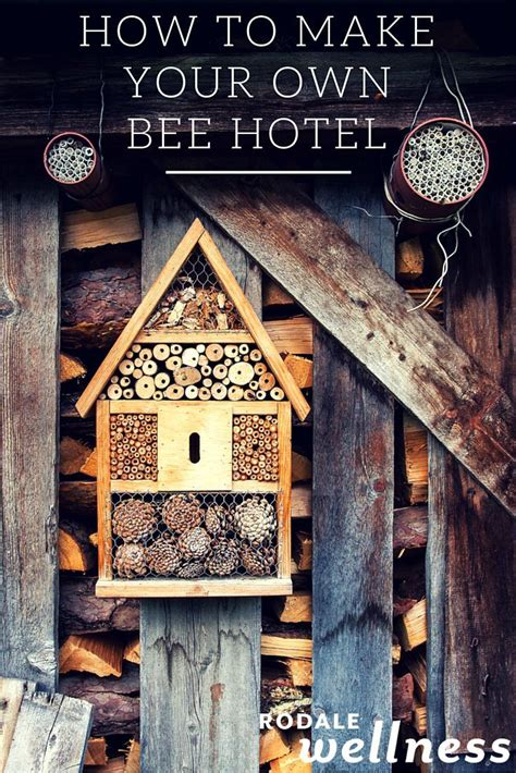 how to make your own house how to make your own bee hotel bee friendly simple diy