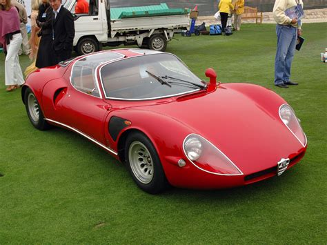 Alfa Romeo Tipo 33 Stradale Price 1967 Alfa Romeo Tipo 33 Stradale Pictures Specifications