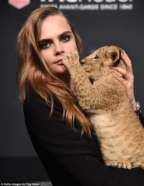 cara delevingne is scolded by animal rights campaigners