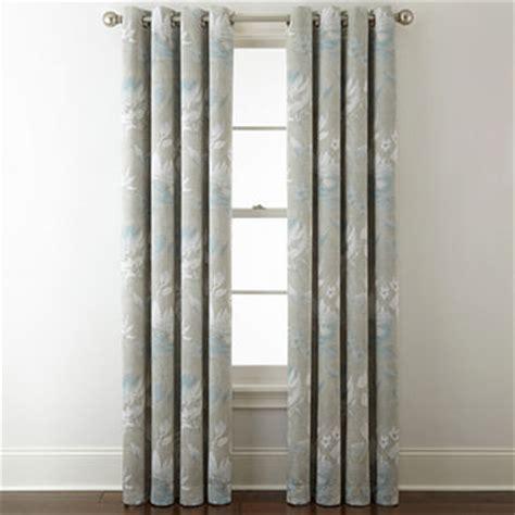liz claiborne curtains liz claiborne kathryn floral room darkening grommet top