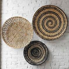 About ethnic wall decor on pinterest ethnic wicker and baskets