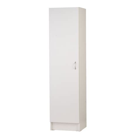 single door pantry cabinet bedford 450mm white 1 door pantry bunnings warehouse