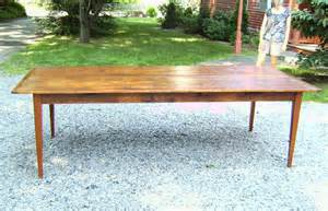 Pine Kitchen Tables For Sale Country Kitchen Pumpkin Pine Wide Board Dining Table Item 7191 For Sale Antiques