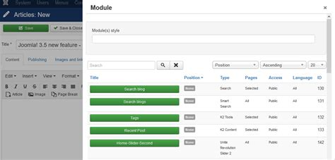 theme editor joomla joomla 3 5 stable release with some new features