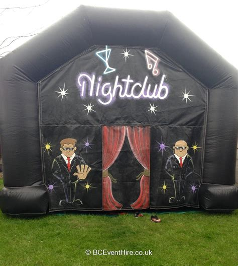 themed party nights solihull inflatable nightclub bouncy castle hire in coventry