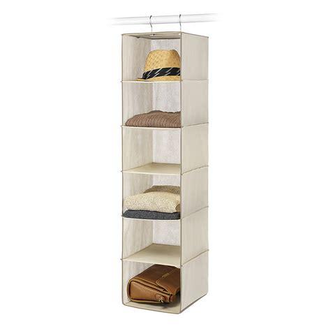 Kmart Closet by Essential Home 6 Shelf Hanging Organizer