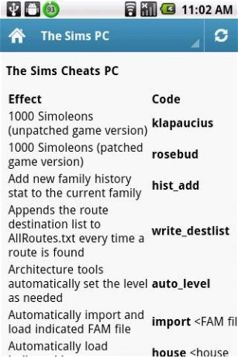 the sims 2 cheats codes cheat codes walkthrough guide download sims cheats ps2 ps3 pc for android appszoom