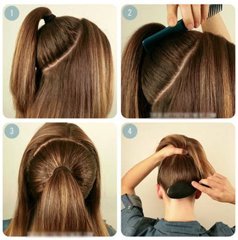 cool easy step hairstyles easy school hairstyles for long hair