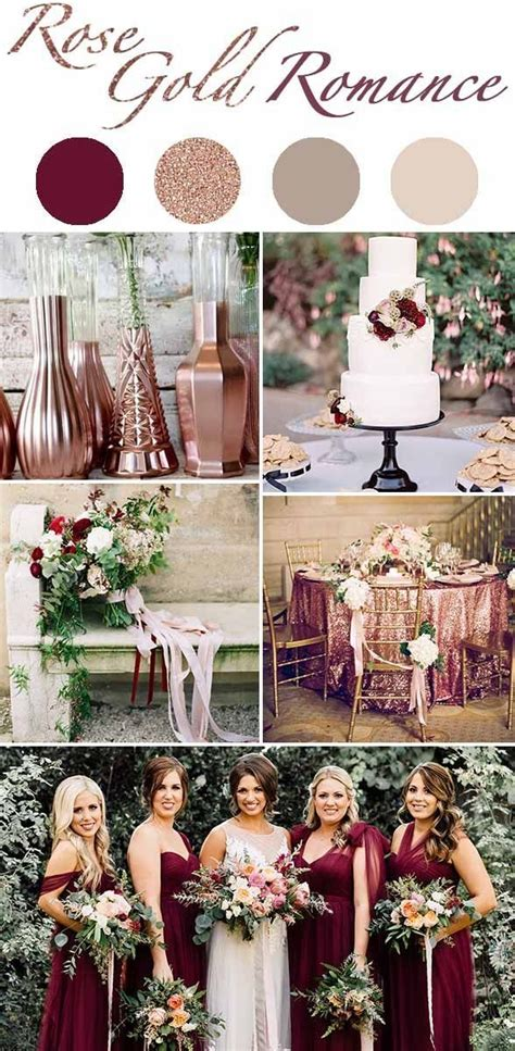 winter color schemes the 5 winter wedding color schemes that are going to be