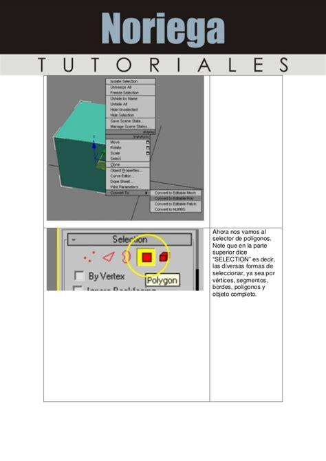 tutorial completo construct 2 tutorial completo sobre manejo de poligonos en 3ds max