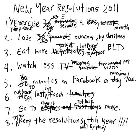 why i hate new year s resolutions 100 auditions