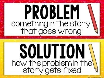 what is the problem problem and solution reading passages by miss decarbo tpt